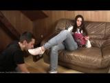 Goddess Amanda slave licking shoes feet #femdom #fetish #mistress #bdsm #фемдом #фетиш #госпожа