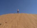 Все в песке. Красные дюны.