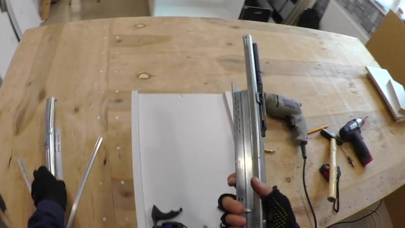 Quadro V6 от Hettich Направляющие скрытого монтажа