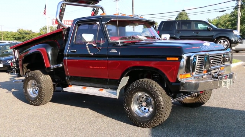 --SOLD--1979 Ford Ranger F150 4x4 For Sale-Over The Top Custom Truck!