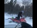 Начало снегоходного сезона братцы, глубокий снег