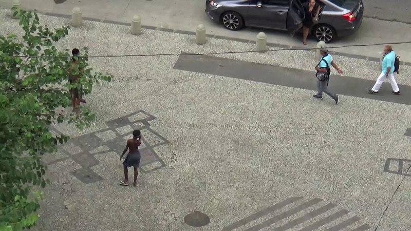 Parecem animais atacando a presa - Rio de Nojeira