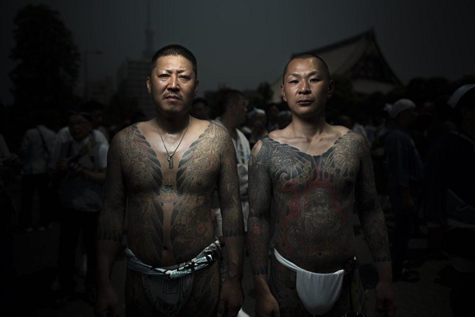 Общие понятия о японской мафии Якудза
