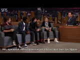 [RUS SUB] The Boys of Stranger Things Are Obsessed with High School Musical