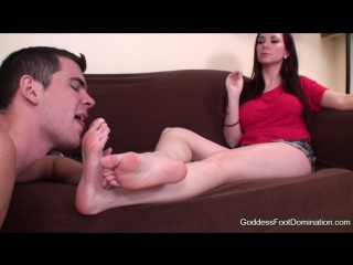 Goddess Jessica - Goddessfootdomination.Com - Goddess Jessica Stepsons Dirty Bedroom