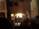 Музыка из балета Щелкунчик. Дина Ихина и Денис Маханьков. Дворец искусств, Кондопога. Орган. Карелия.