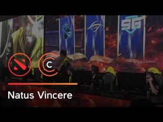 Победная драка Natus Vincere против Team Secret