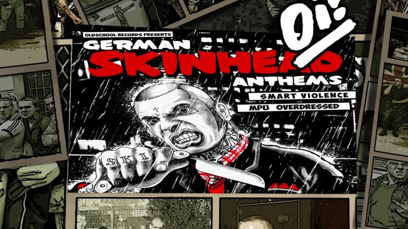Smart Violence MPU Overdressed - German Skinhead Anthems (2017)