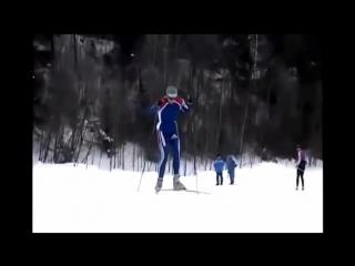Учимся кататься на лыжах правильно