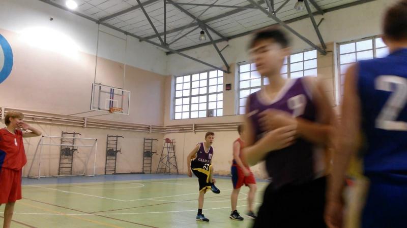 17.10.2017 Баскетбол Сергиев Посад(02-06) - Хотьково 2003 (6