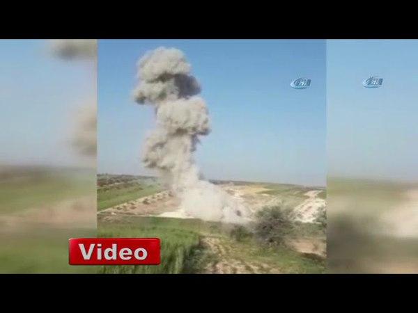 İdlibde hava saldırısı 1 ölü, 15 yaralı