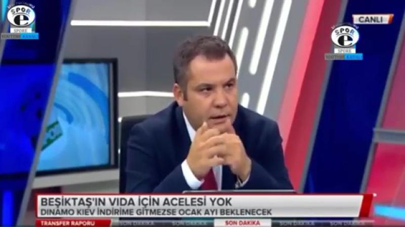Beşiktaş Transfer Raporu ¦ BJK' de Vida transferi gündemi ve yorumları 14 Ağustos 2017.mp4