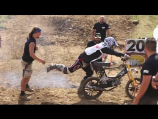 Would you win the epic battle of mopeds - Red Bull Epic Rise 2017