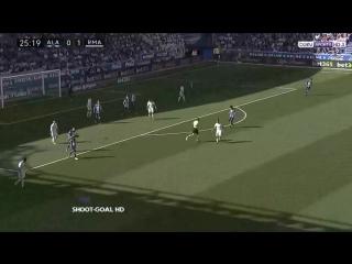 Испания ЛаЛига Алавес - Реал Мадрид 1:2 обзор