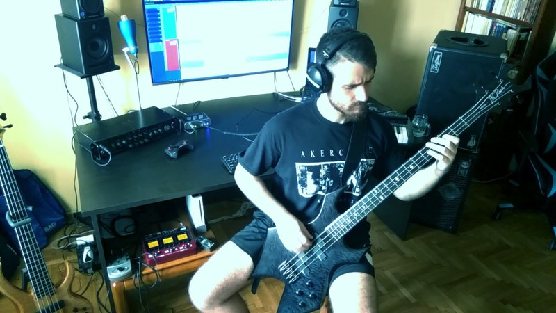 Symphony X - Nevermore Bass Cover