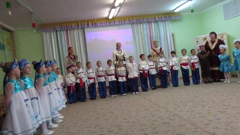 MVI 1544Мастер класс Русский сувенир в 95 детском саду г Омска