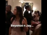 2017:Бейонсе, Шон и Блу на свадьбе Лоуренса Паркера и Джессики Клемонс, 7 октября.
