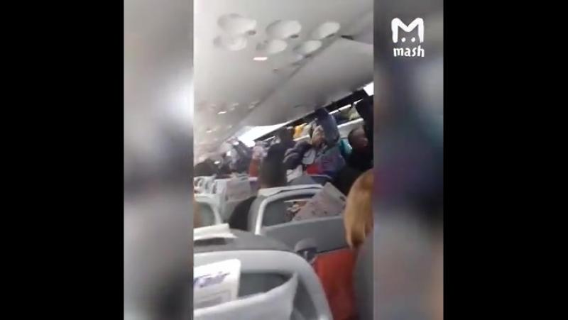 Самолет ЮТэйра заглох прямо перед взлетом на ВПП во Внуково