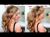 Свадебная прическа, прически на выпускной💕Высокий текстурный хвост.Обучающее видео💕Prom hairstyles