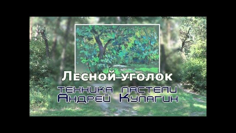 01/Пленэрные секреты/ 06_Лесной уголок,пастель