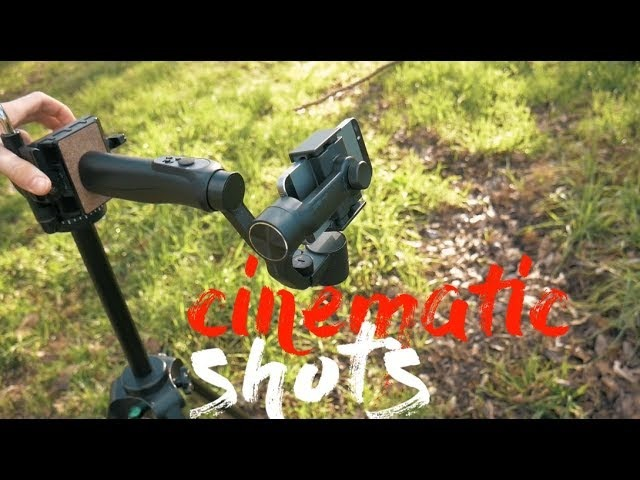 Create Cinematic Shots with the Zhiyun Smooth Q 3 Axis Gimbal! (Slider, Jib, and Pan!)