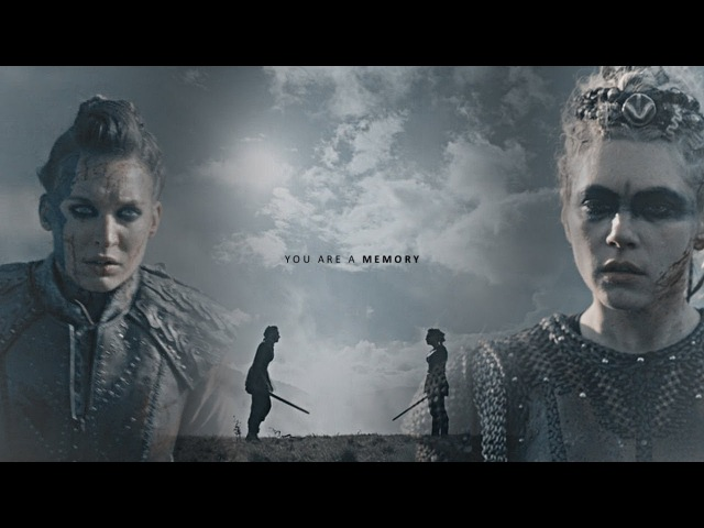 Lagertha Astrid | Now I can die [5x10]