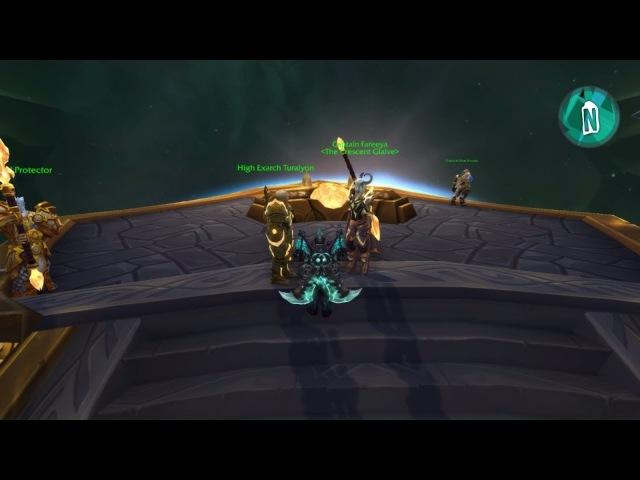 Lightforged Draenei Unlock Scenario Allied Races - Legion - Patch 7.3.5