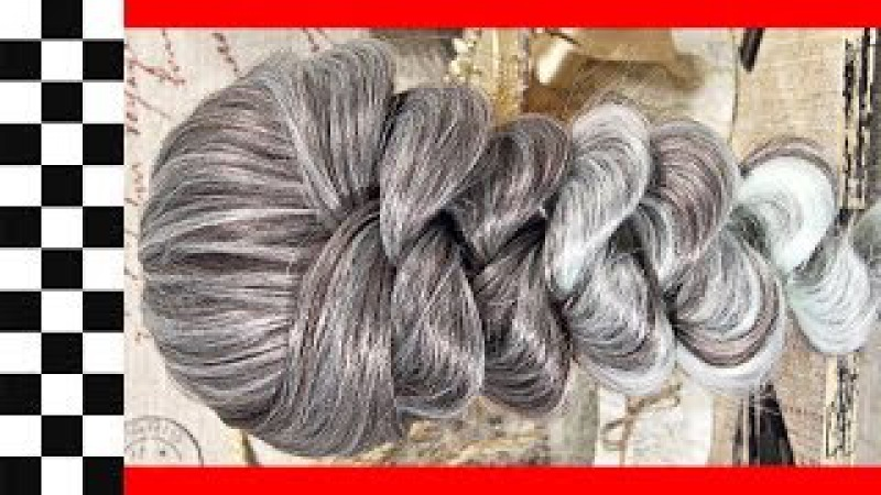 Коса на резинках Элегантная | Авторские причёски | Лена Роговая | Hairstyles by REM | Copyright ©