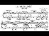 Scriabin 24 Preludes, Op.11 (Lettberg, Stanev)