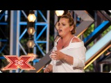 Our Judges love every piece of Rebecca Grace  Auditions Week 2  The X Factor 2017