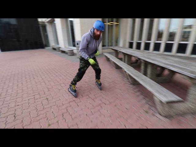 WINTER FLOW SKATE - City skating, Inline skating (rollerblading) with tricks