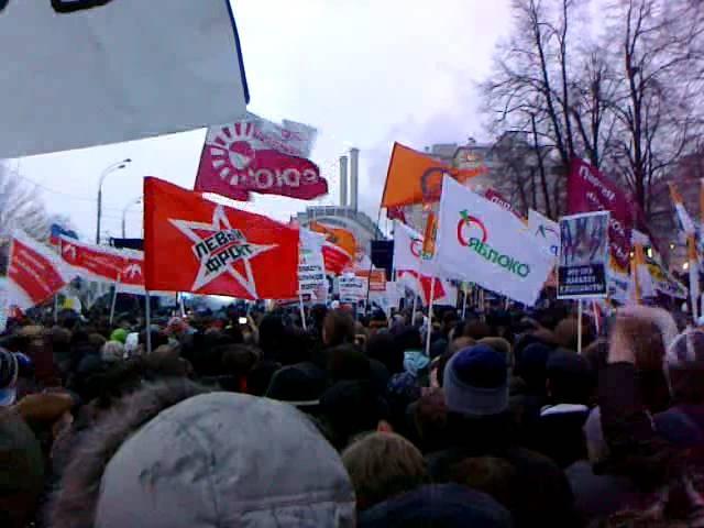 Митинг на Болотной площади 10 декабря 2011 года (Ролик 09)