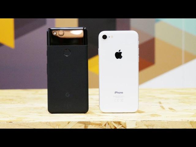 IPhone 8 или Google Pixel 2? Сравнение камер