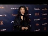 Kelly Hu F.R.E.D.I. Movie Screening Red Carpet