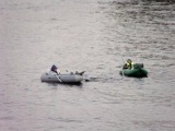 Рыбаки на реке Неве.Fishermen on the river Neva.