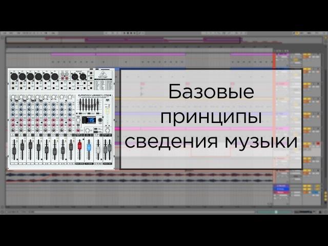 Как сводить треки в Ableton Live. Сведение трека для начинающих. Полный урок.