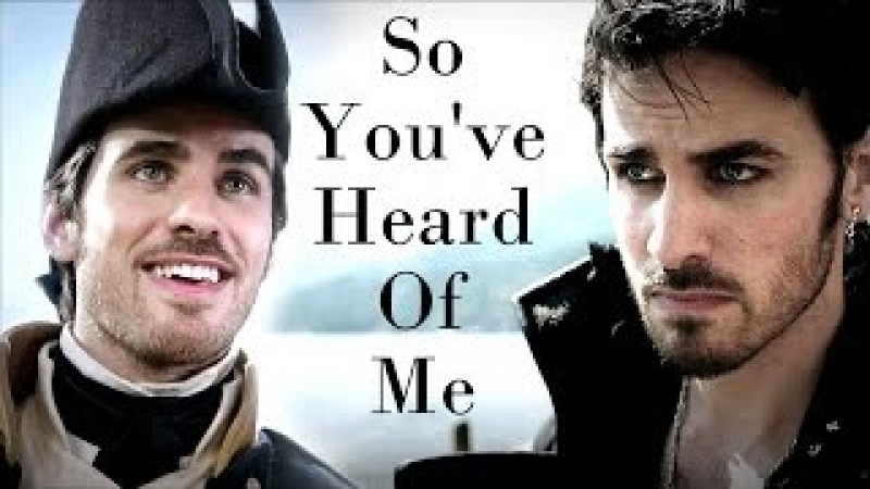 Killian Jones | Captain Hook - So You've Heard Of Me