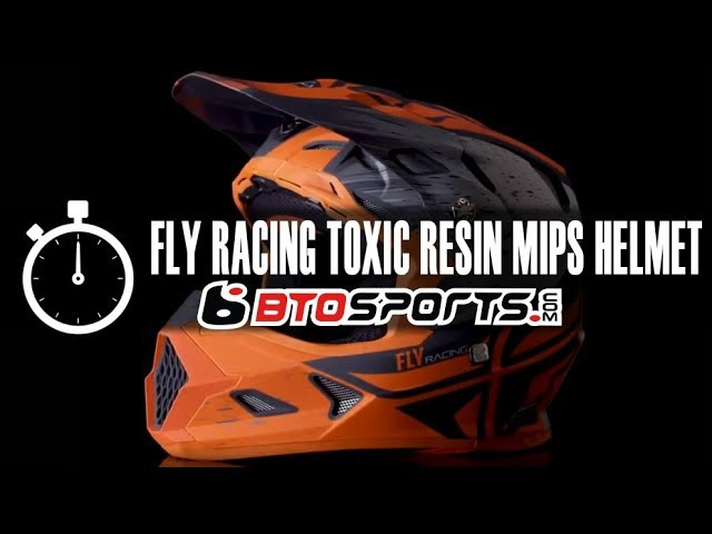 Новый шлем Fly Toxin Resin MIPS Helmet