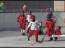В красноярской школе ребят с малых лет учат играть в русский хоккей