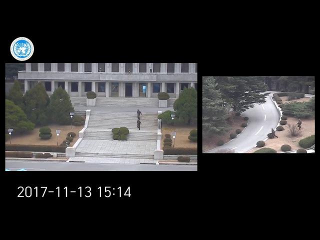 North Korean soldier gets shot while defecting in DMZ / 북한 JSA 탈북 병사 동영상