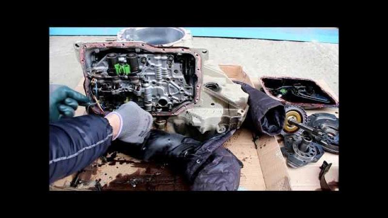 Автоматическая коробка передач из чего она состоит Mazda Demio 1,3 2004 Мазда Демио