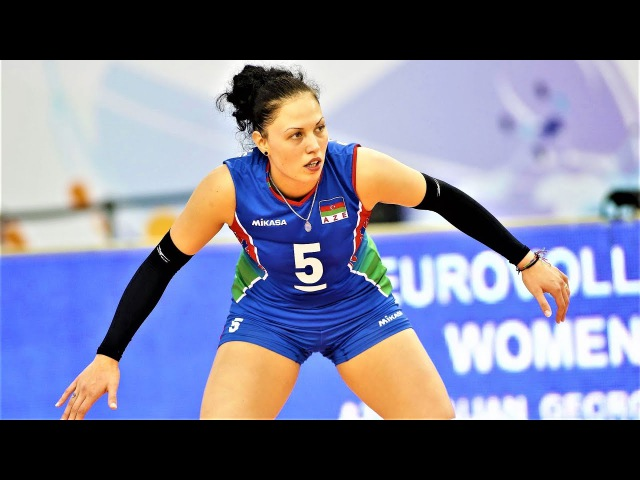 TOP 10 Amazing Volleyball Moments by Odina Bayramova from Azerbaijan