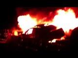 Водитель BMW погиб в аварии в Ярославской области, машина сгорела