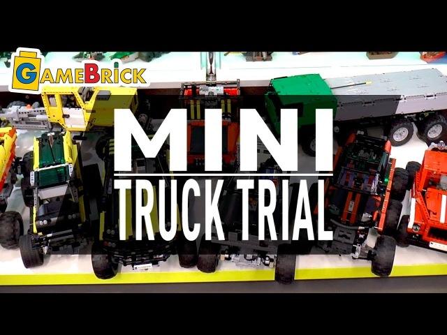 Видео от AKSI с GameBrick LEGO Mini Truck Trial музей GameBrick