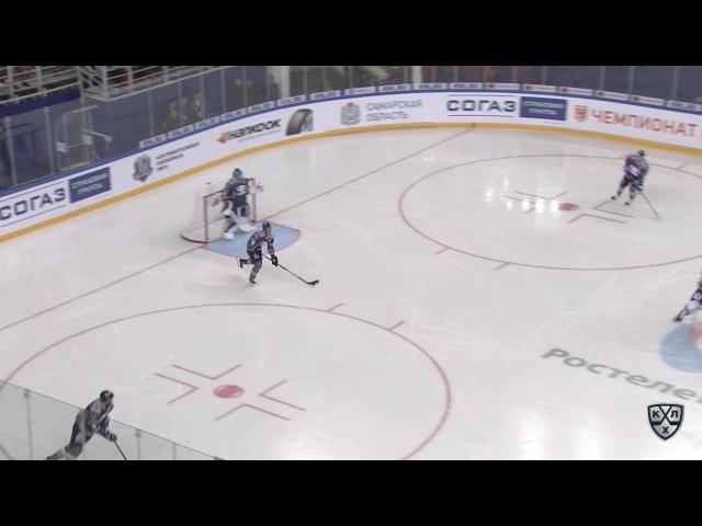 Моменты из матчей КХЛ сезона 16/17 • Гол. 4:3. Иржи Новотны (Лада) в касание замкнул передачу 27.08