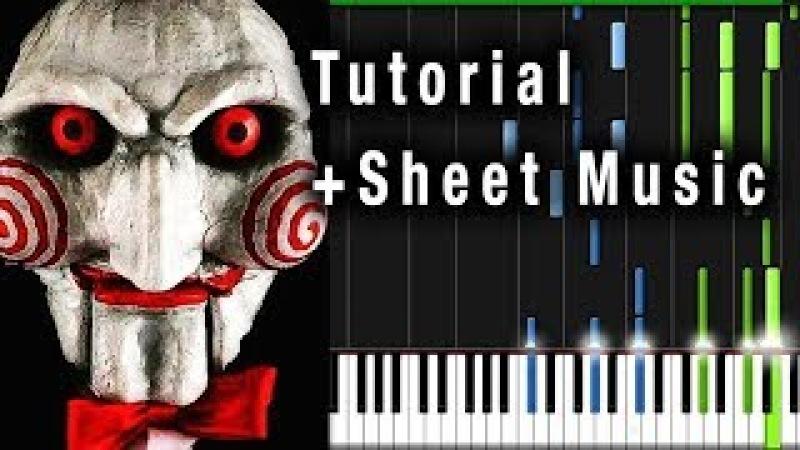SAW THEME (Jigsaw) Piano Tutorial Sheet Music