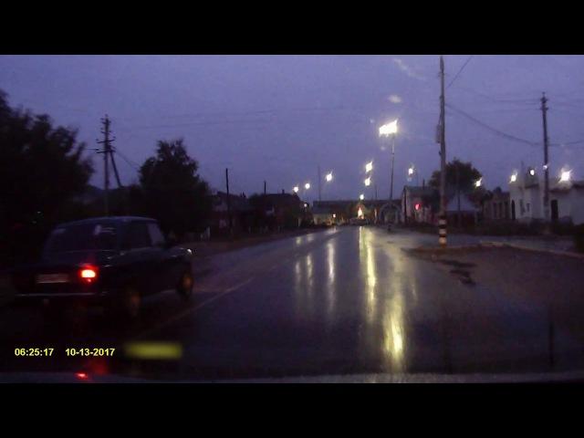 Проезд на красный сигнал светофора Россошь Правила не для НАС