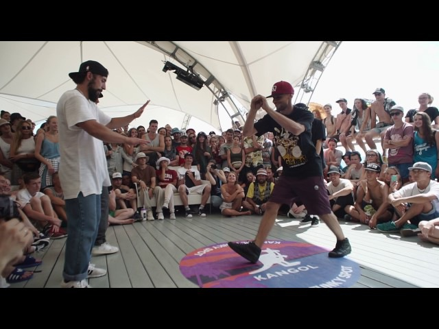 Beatmaster T Kettu Brown VS Robin Scream / TOP ROCK / Yalta Summer Jam 2017