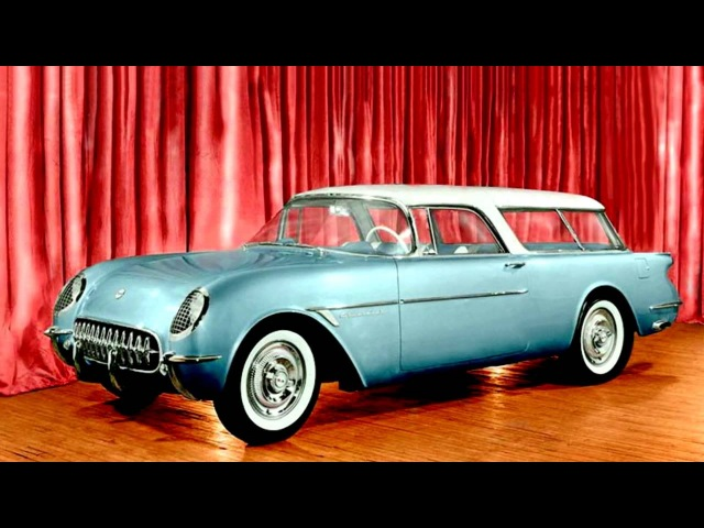Chevrolet Corvette Nomad Concept Car '1954