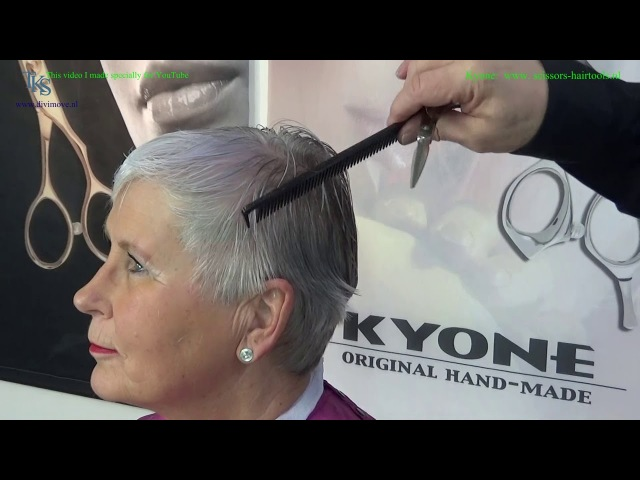 Just see how I do Hetty's hair 50 Hair Cut Tutorial by T.K.S.